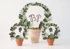 创意小盆栽之木环卡纸制作精致清新的小盆栽