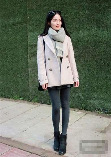 冬天大衣如何搭配围巾 10种有气质的围巾搭配技巧