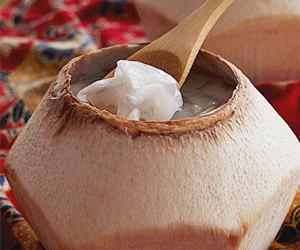清凉椰子爽的做法 夏日解暑菜之清凉椰子爽