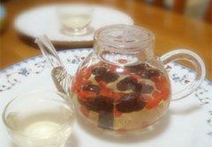 红枣枸杞茶的做法 夏日饮品之红枣枸杞茶