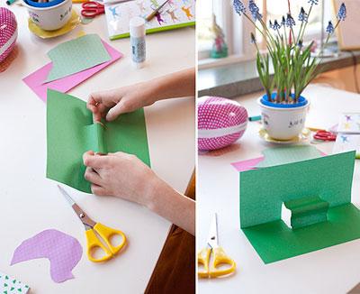 教师节卡片 DIY漂亮的立体折纸卡片