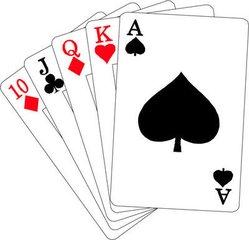 扑克花切魔术